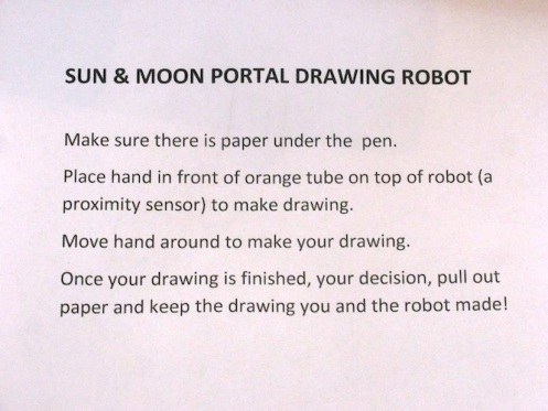 directions for sun and moon drawing machine