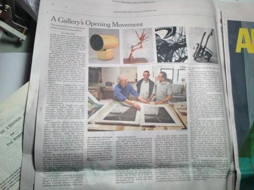 NY times article